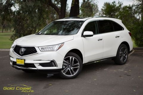 New 2017 Acura MDX with Advance and Entertainment Packages With Navigation